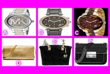 DRESS UP WITH MICHAEL KORS - Feb 12, 2014 / It's all about Michael Kors tonight - great selection of Michael Kors Watches and Bags Register, Buy Bids and Win !!! OneCentChic.com