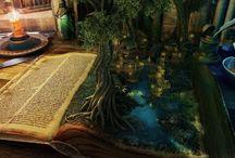 Imagination bookweek board