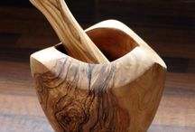 γουδια κουζίνας ξύλινα