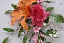 Lily/rose bouquet