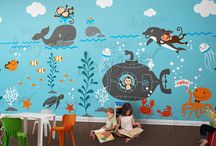 Underwater Themed Nursery Room / baby bedding - baby furniture - baby room ideas - baby nursery ideas - baby cribs - nursery furniture sets - nursery ideas - baby room decor - baby room themes -