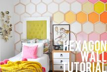 Girls Room Decor- shared spaces