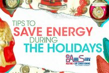 Holidays / HVAC tips and tricks to keep your holiday season merry and bright.