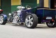 Ford T bucket Hot Rods
