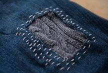 Mending and upcycling