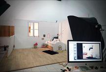 Photos Studio / Découvrez les coulisses du studio photo pour le lancement de nos nouvelles collections et les mises en scènes de tous nos produits !
