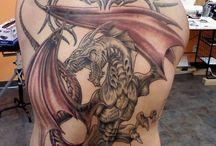 Back tattos