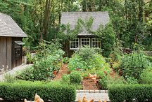 The Castle Fruit and Vegetable Garden. / Please pin to your hearts content.