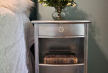 pintar muebles con pintura metalica