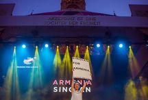 "Armenia at Eurovision Fashion Show / SINOIAN representing Armenia at the first-ever Eurovision fashion show ""Fashion For Europe"" in Vienna."