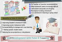 Tutor & Tutoring / The tutor and tutoring are revolutionizing the education and becoming the preferred way to learn and gain best.