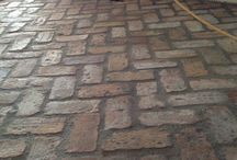 Pavers Outside Antique