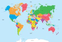 World Map Poster / world map poster, large world map poster, vintage world map poster, map of the world poster, world map posters