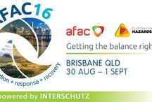 AFAC   Australasian Fire & Emergency Management Conference 2016 / Discover new technologies to transform your agency. Discover the latest technology and equipment from the leading industry suppliers at the AFAC16 Exhibition. www.afacconference.com.au