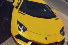 Lamborghini Aventadore Yellow