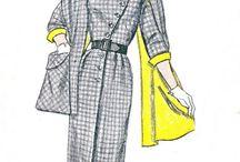 Šaty Z 50. Let