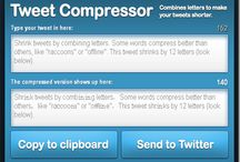 Twitter helps for Blogger