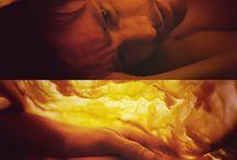 Screen shots from films