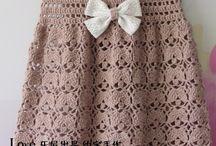 gehaakte jurkjes