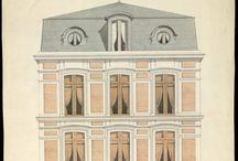 Arquitectura Dibujos / Dibujos Fachadas