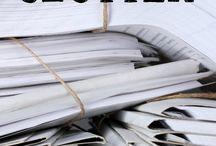 Paper organisation