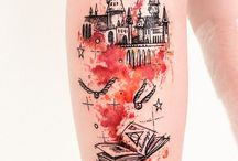 harry potter tatoo