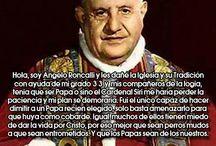 EL SEXTETO DE APOSTATAS / Los 6 anti-Papas