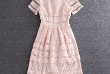 платье али