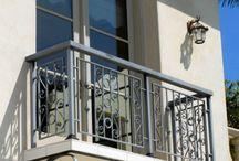 Balkony podpory