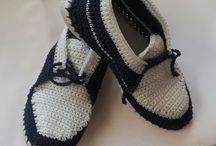 πλεκτά  παπούτσια