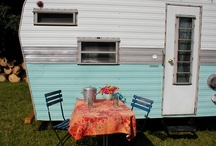 vintage trailer / by Zoe Bleck