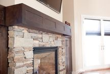 Fireplaces / Remodels, decorating, DIY ideas for our fireplace