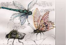 Insect sculptures