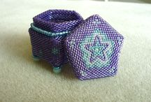 Beaded Boxes, Purses, Bowls, etc. / by Beebe Anderson Nadolskey