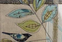 raw edge applique & textile art