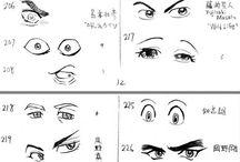 olhos mangá