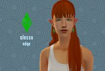 TS2 Resources - Hair