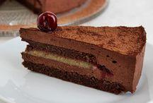 csokis meggyes marcipán torta