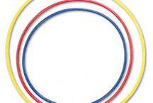Hula hoop music games