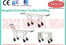 Patient Stretcher Trolley Exporters India / Patient Trolley is our product to our valued customers which is specifically manufactured using modern methods of manufacturing in India at low price. This product is sturdily constructed in nature and ensure long lasting service life.