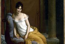 XIXème / en France : Empire / Romantisme / Impressionnisme... // en Angleterre : Préraphaélisme / époque Victorienne / Jane Austen...