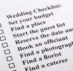 Wedding checklists / make a list. Check it twice!