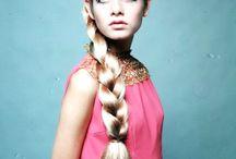 60's#fashion#colour#hair&makeup / 60's fashion