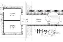 sketch de page pour mini