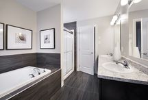 Model Homes: Bathrooms / Here are some of the fantastic bathrooms in our past and present model homes.