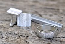 Something for the gents / Men's jewellery and accessories all made from 925 Sterling Silver and Shibuichi Bronze