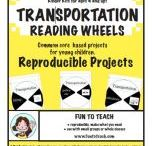 Transportation Reading Wheels