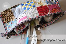 Sewing - Bags & Totes / Purses, wallets, totes, etc. / by Linda Gillespie