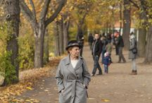 fashion / Fall in Lazienkowski Park