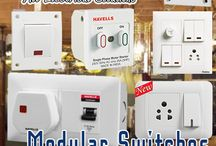Modular Switches / This board will feature the electric switches designs to be in your home
